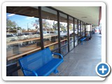 Outdoor seating so you can enjoy our San Diego Weather